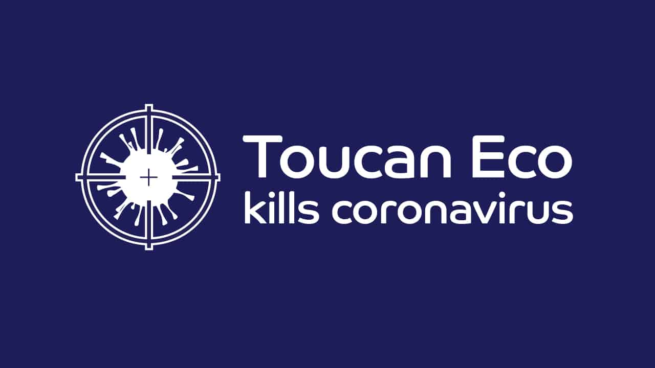 Toucan Eco kills coronavirus