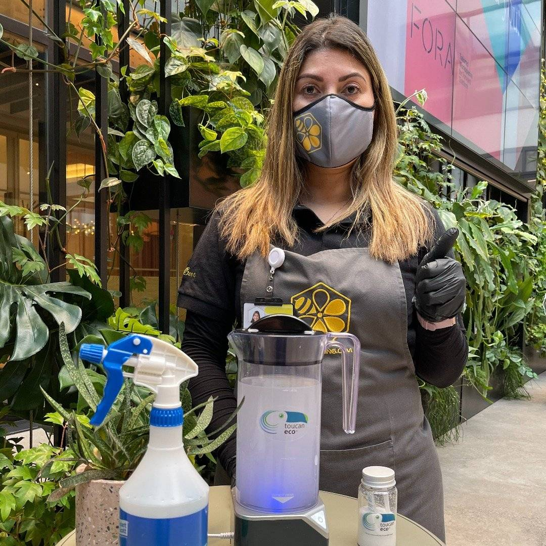 Hive Cleaning & Toucan Eco